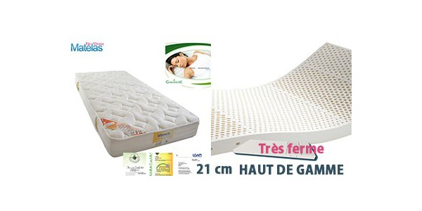Matelas Latex Grand Confort Tres Ferme Latexnaturelmat Com