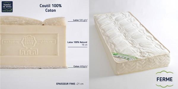 matelas latex naturel 80x200. Black Bedroom Furniture Sets. Home Design Ideas